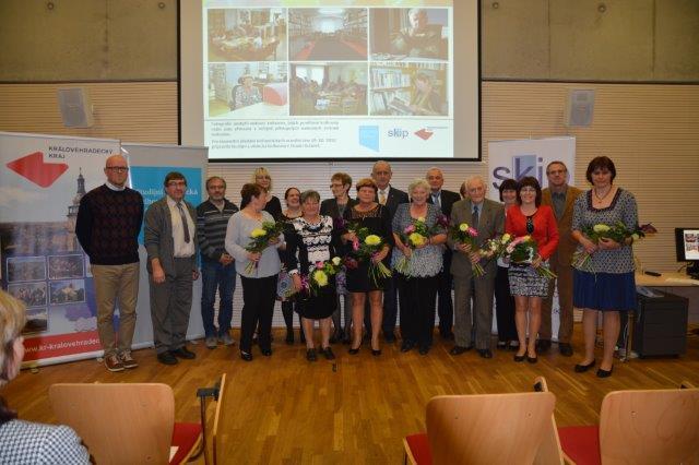 Známe knihovnice a knihovníka Královéhradeckého kraje za rok 2016